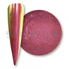 Purple-red/Gold/green  Super chrome shifting chameleon pigment