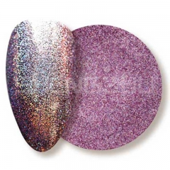 Oil based solvent resistant laser purple-red sequin nails glitters