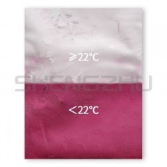 Rose  22℃  thermochromic pigment