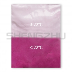 Peach red  22℃ thermochromic pigment