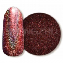 Dark purple-red Laser holographic pigment