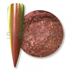 Gold/red/green  Super chrome shifting chameleon pigment