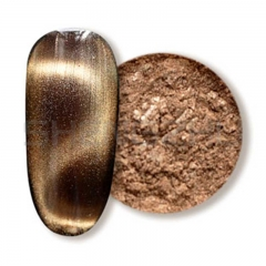 Pale brown 3D Single color magnetic pigment