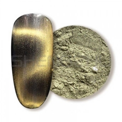 Pale gold 3D Single color magnetic pigment