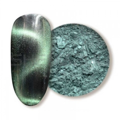Pale green 3D Single color magnetic pigment