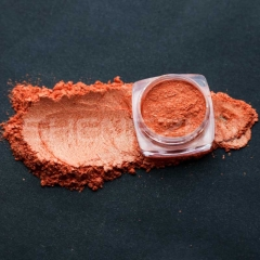 Orange-red  Coloring pearlescent mica pigment