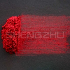 Crystal red shimmer pearl pigment