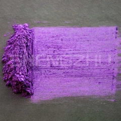 Crystal purple shimmer pearl pigment