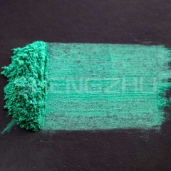 Crystal deep green shimmer pearl pigment