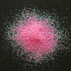 Rainbow pink Solvent resistant glitters